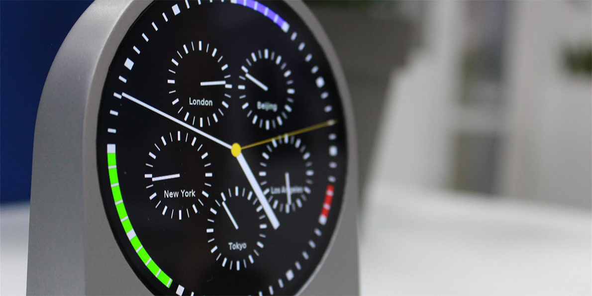 Worldclock prototype