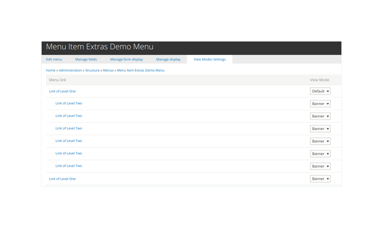 Get a Fieldable Drupal Menu: Menu Item Extras Overview
