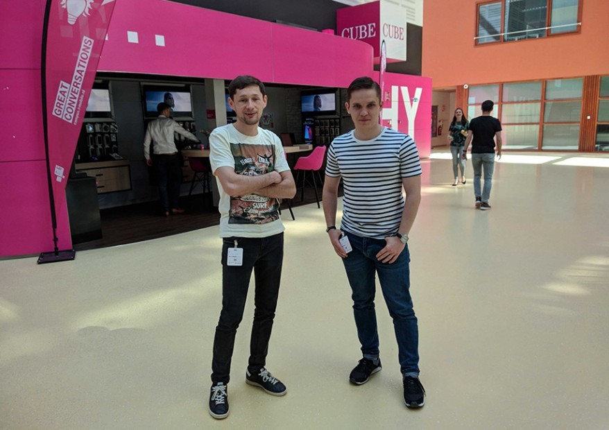 Lemberg's developers at T-mobile office