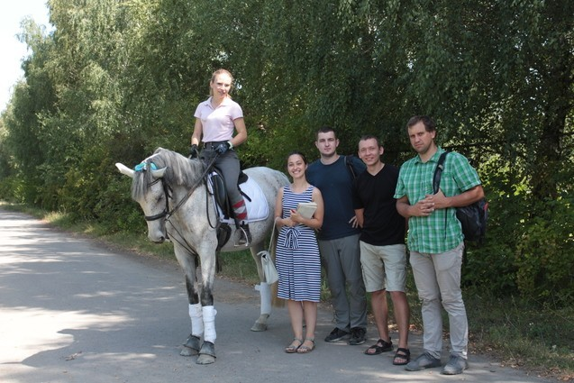Lembergs team testing Horse Analytics